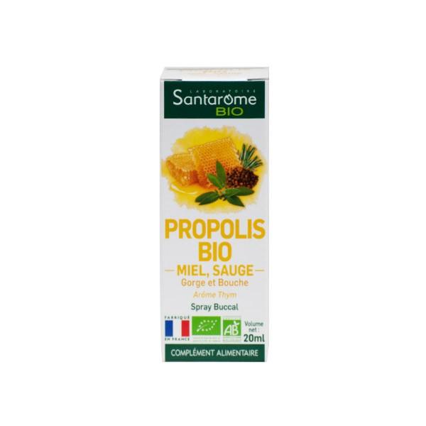 Santarome Bio Spray Gola Propolis 20ml | Sanareva