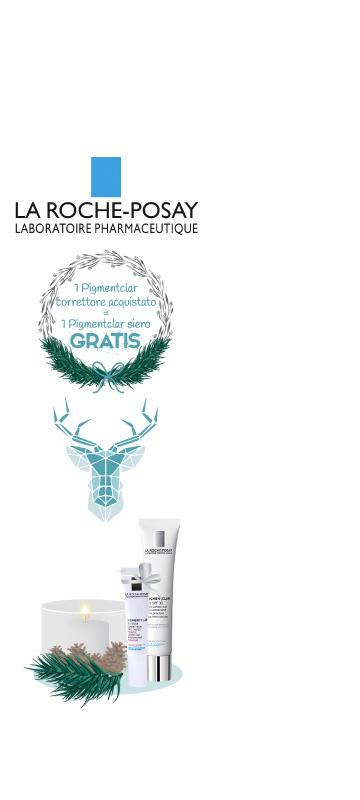 A Dicembre!  promozioni sul laboratorio La Roche Posay