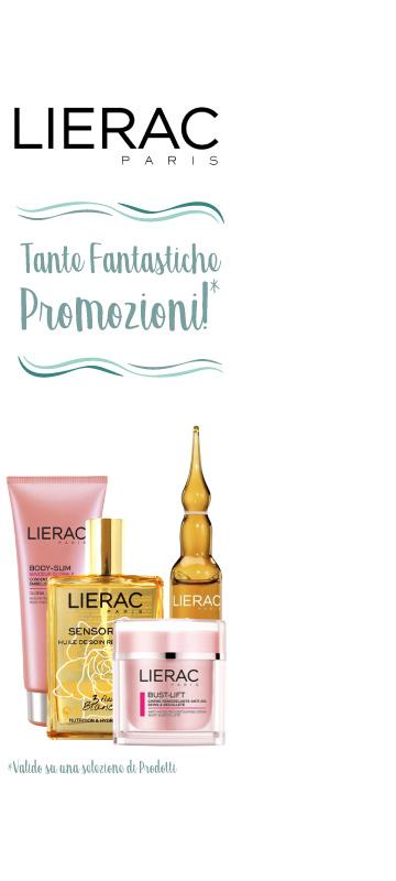 A Luglio! Promozioni di aprile sul laboratorio Lierac