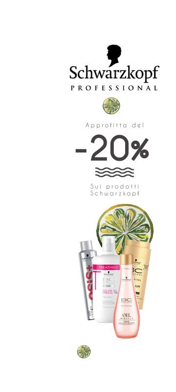 A Giugno!  promozioni sul laboratorio on Schwarzkopf