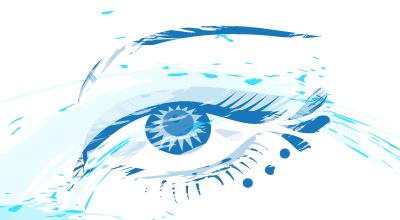 La secchezza oculare o sindrome dell'occhio secco